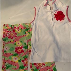 Gymboree Girls Summer Outfit - Size 6